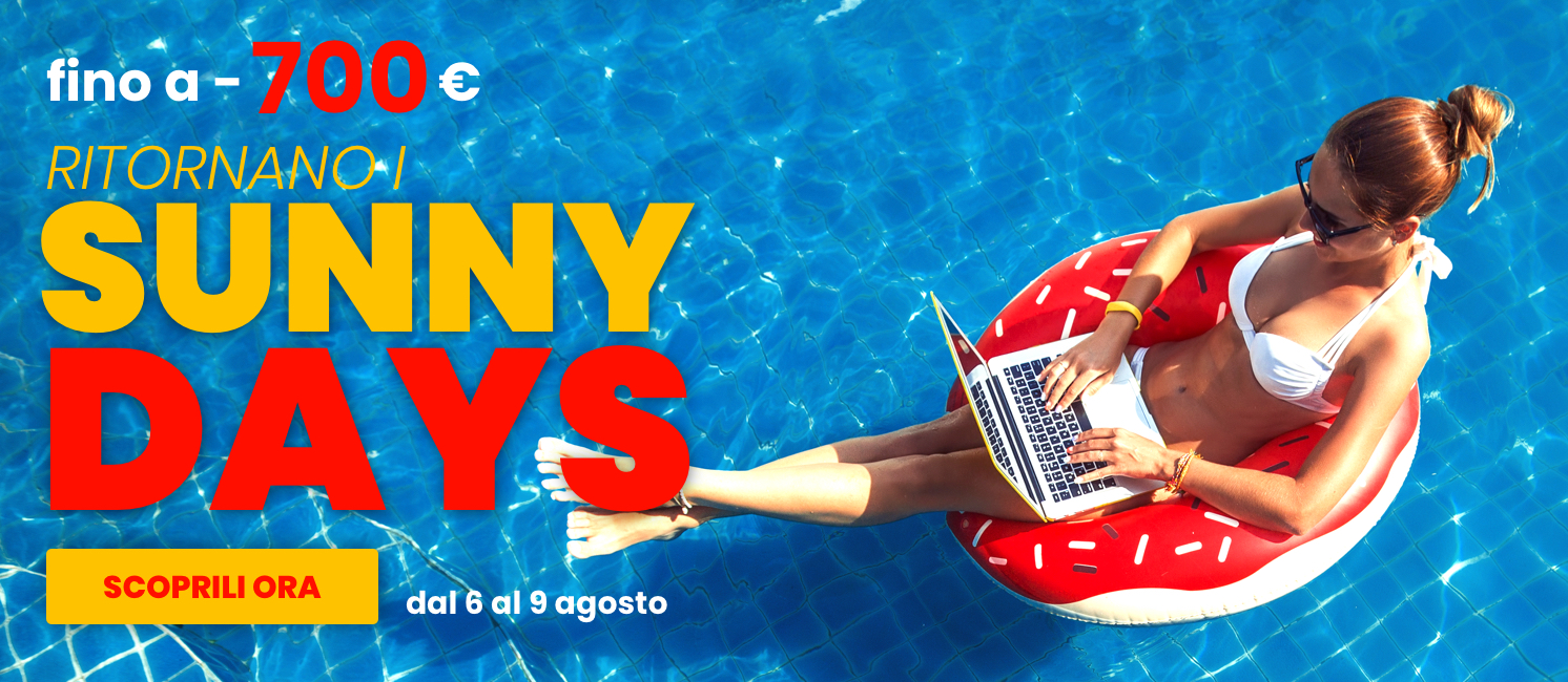 Promo: Tornano i Sunny Days