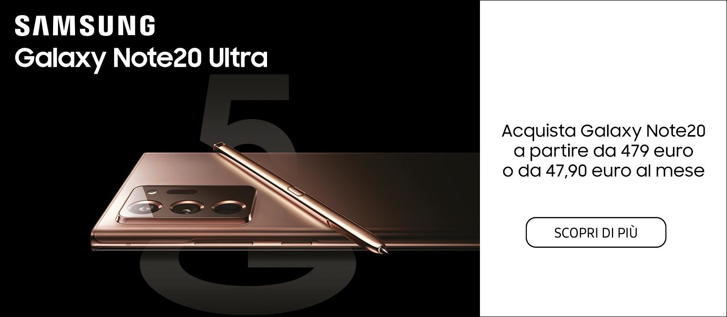 Promo: Nuovo Samsung Galaxy Note20