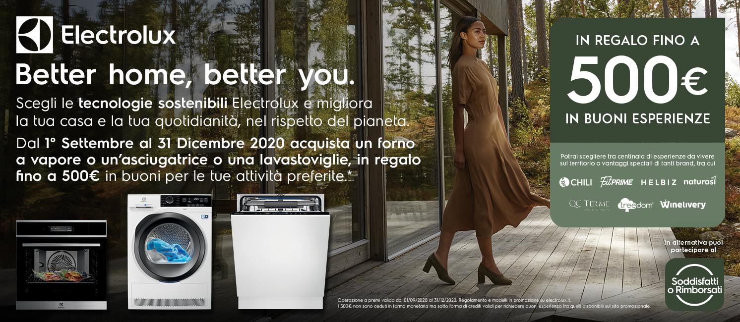 Promo: Electrolux Grandi Elettrodomestici: Better Home, Better You