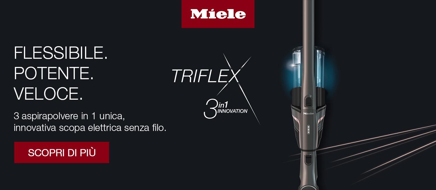 Promo: Miele Triflex: Flessibile, potente, veloce.