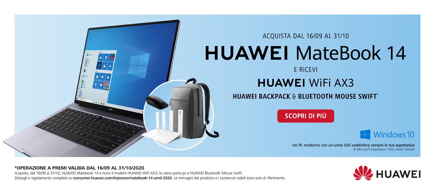 Promo: Huawei MateBook 14