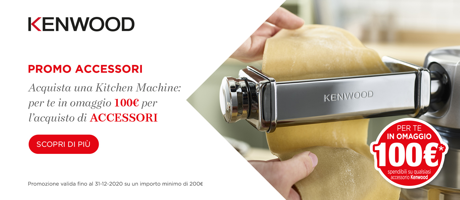 Promo: Kenwood Speciale Accessori