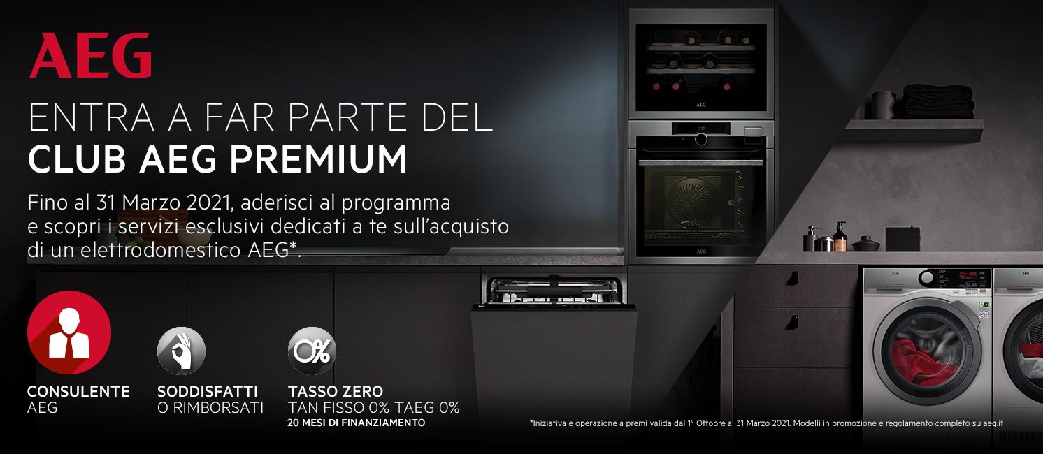 Promo: Entra a far parte del Club AEG Premium