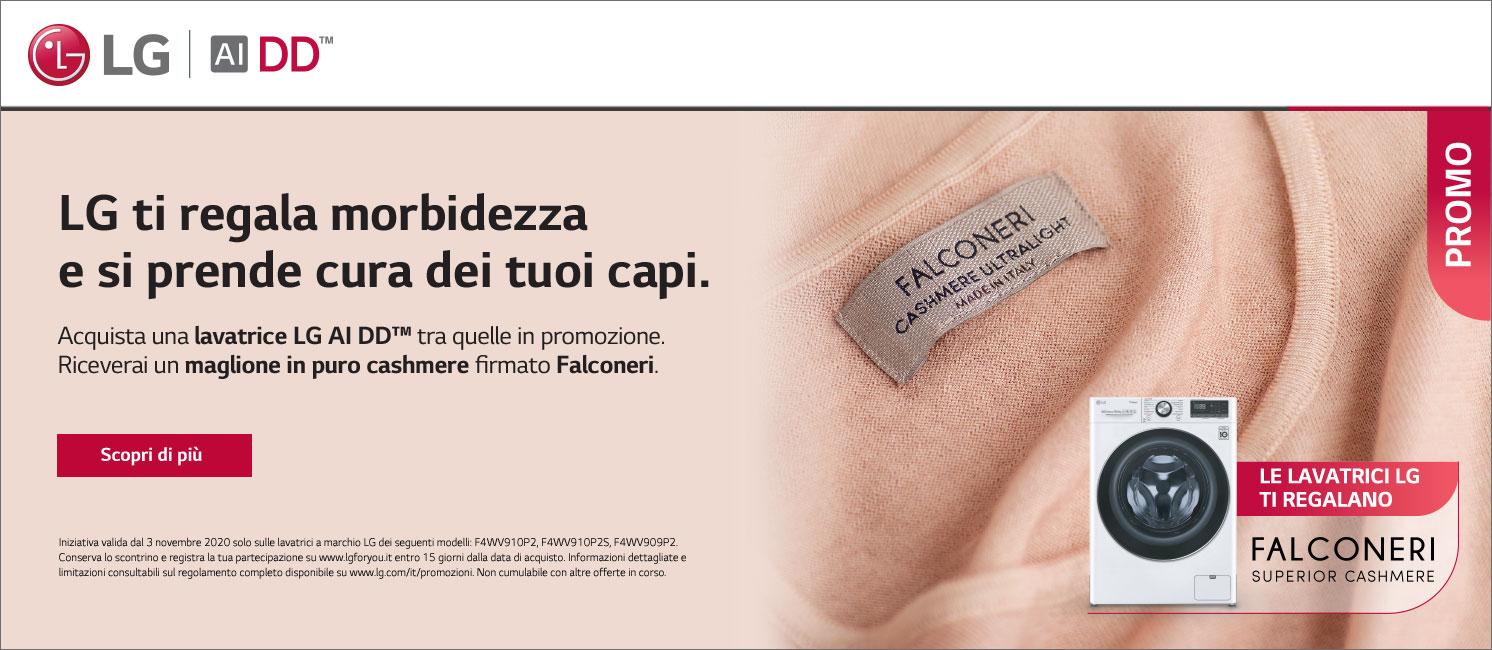 Promo: LG  ti regala Falconeri