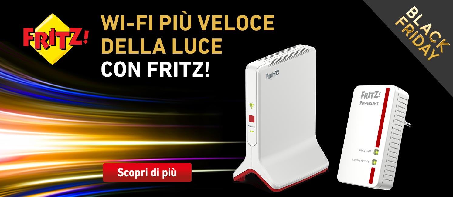 Promo: AVM Fritz: scopri il wi-fi più veloce della rete!