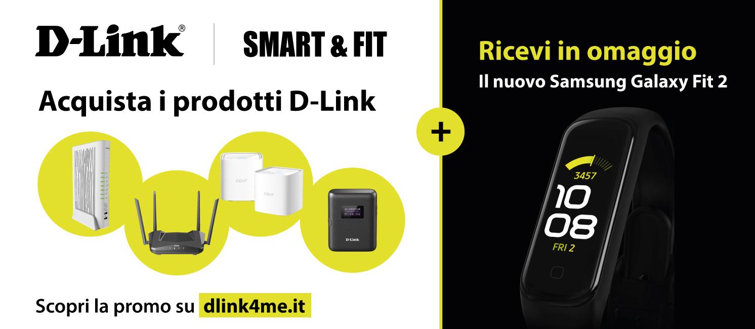 Promo: D-Link Smart & Fit