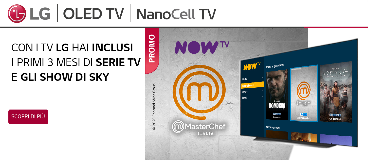 Promo: LG Regala Now TV