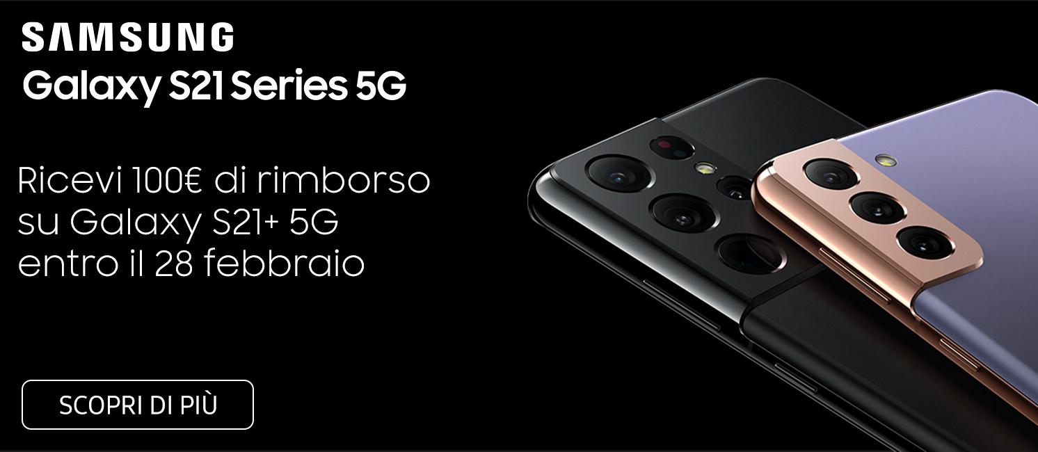 Promo: Nuovi Samsung Galaxy S21 Series