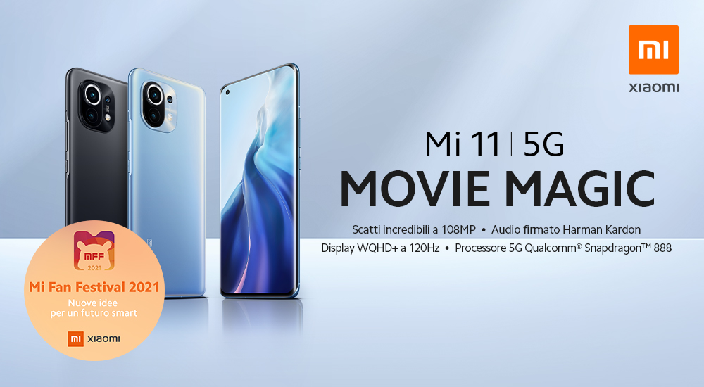 Promo: Xiaomi M11 5G: Movie Magic!