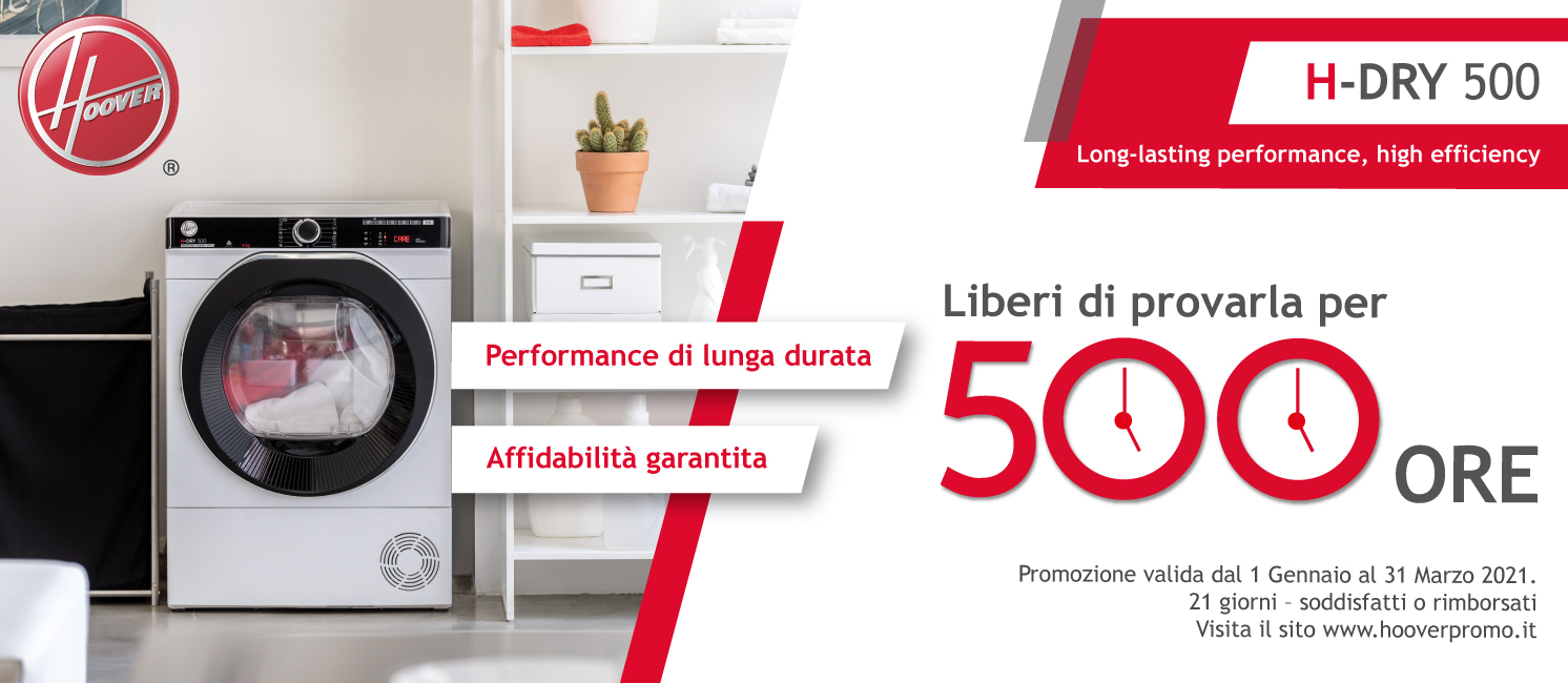 Promo: Hoover H-Dry 500
