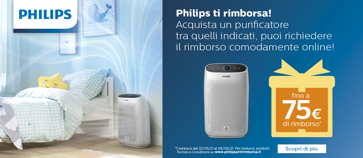 Promo: Philips Air ti Rimborsa!
