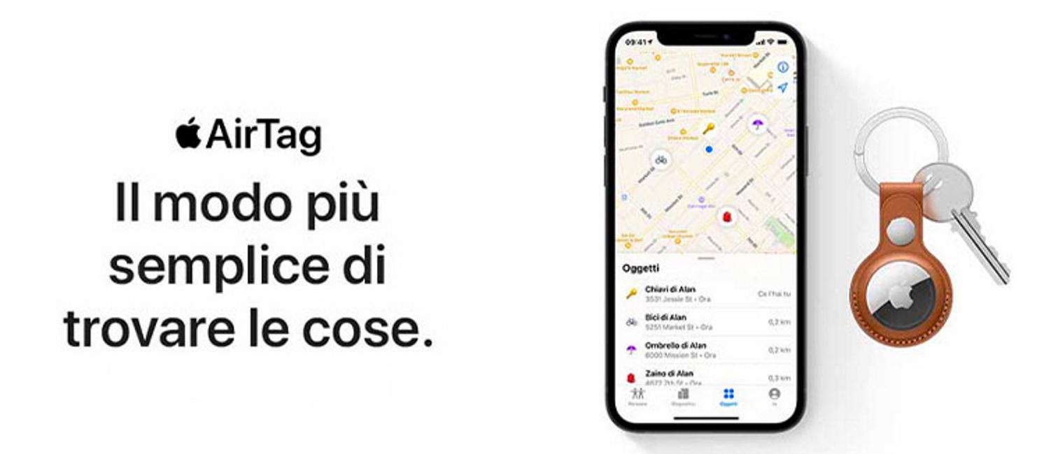 Promo: Apple AirTag: il modo più semplice di trovare le cose