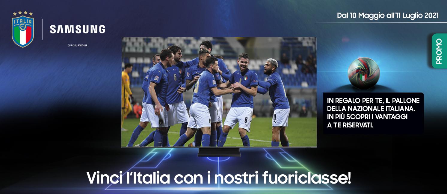 Promo: Vinci l'Italia con Samsung TV!