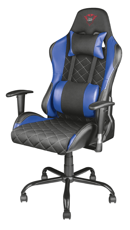 TRUST GXT707R RESTO GAMING CHAIR BLUE