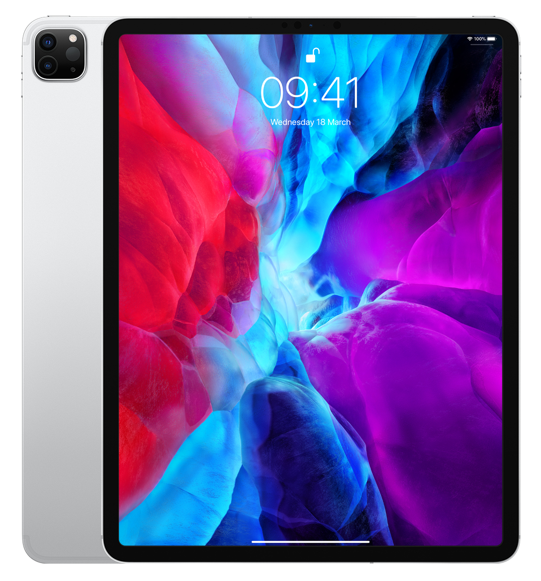 "12.9""iPad Pro WiFi+Cel 128GB Silver 2020"