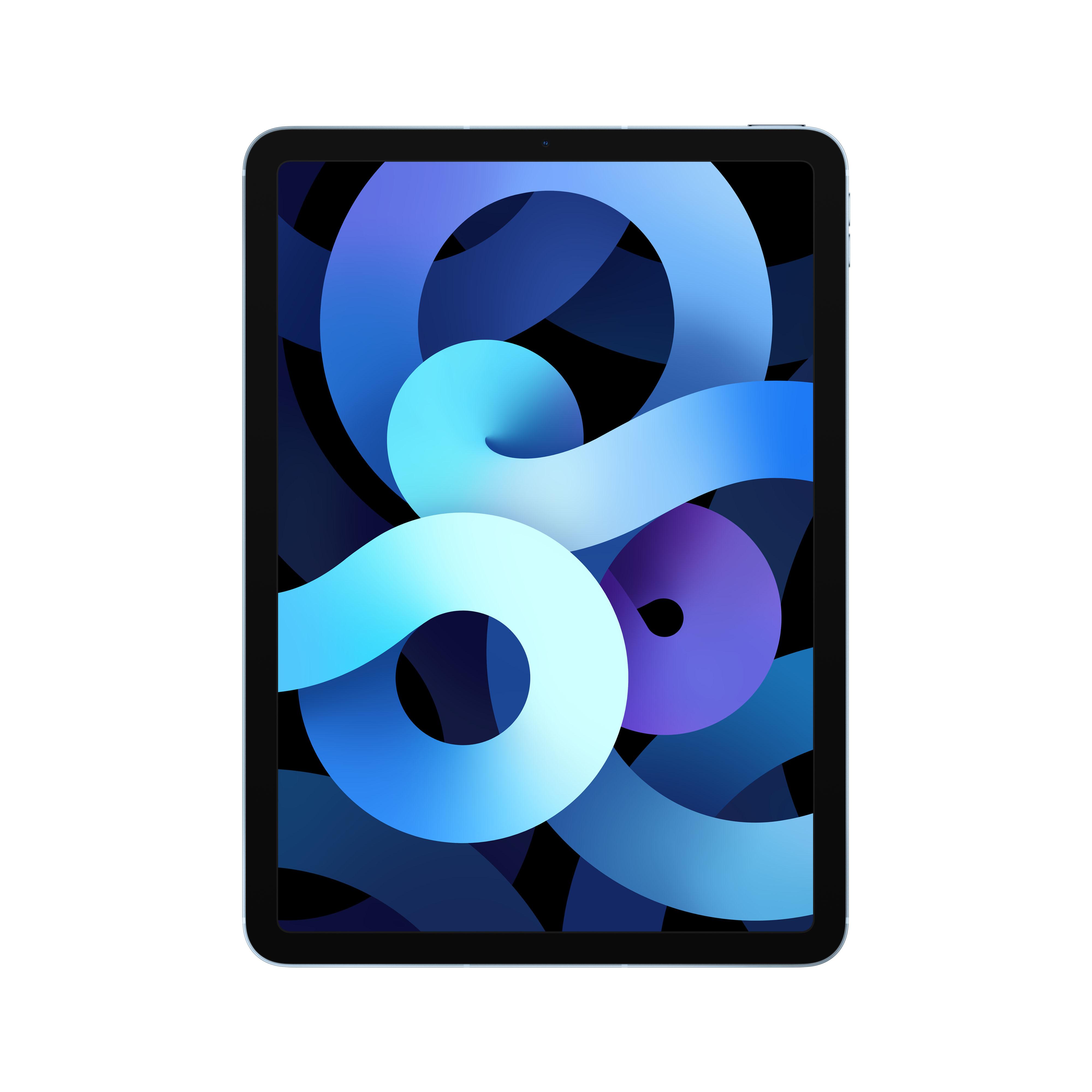 Apple - 10.9-inch iPad Air Wi-Fi + Cellular 256GB - Sky Blue Myh62ty/a