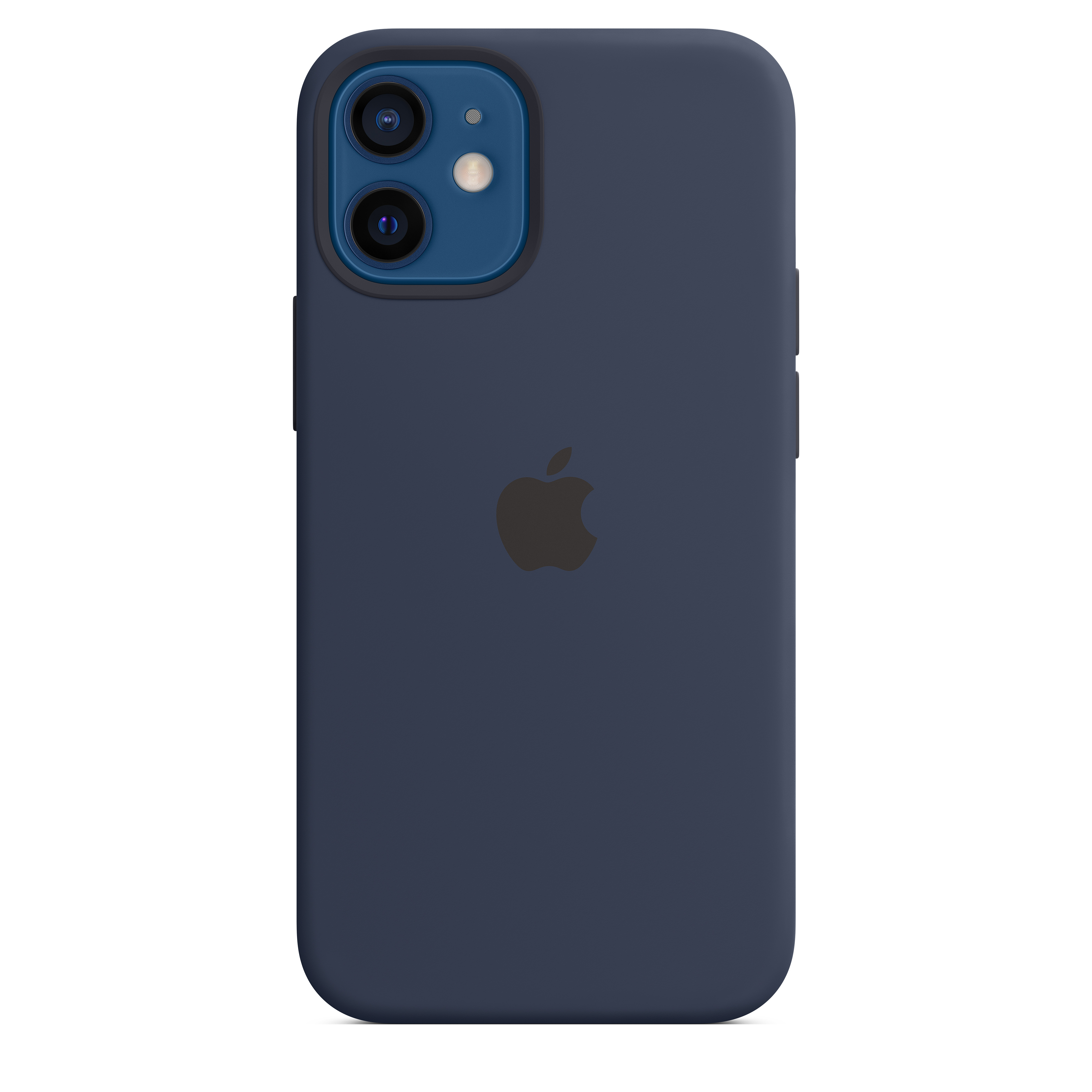 Apple - iPhone 12 mini Silicone Case with MagSafe - Deep Navy Mhku3zm/a