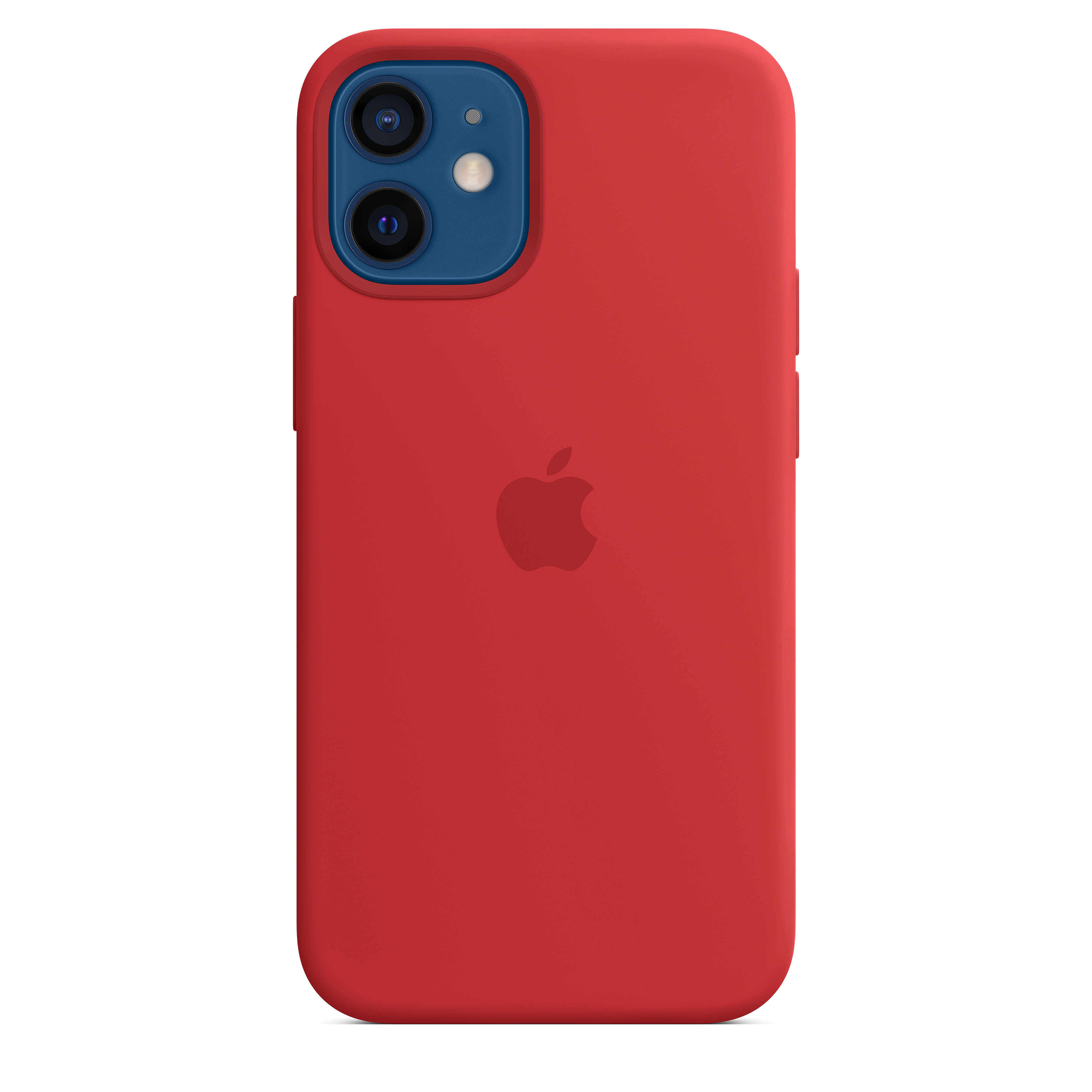 Apple - iPhone 12 mini Silicone Case with MagSafe - (PRODUCT)RED Mhkw3zm/a