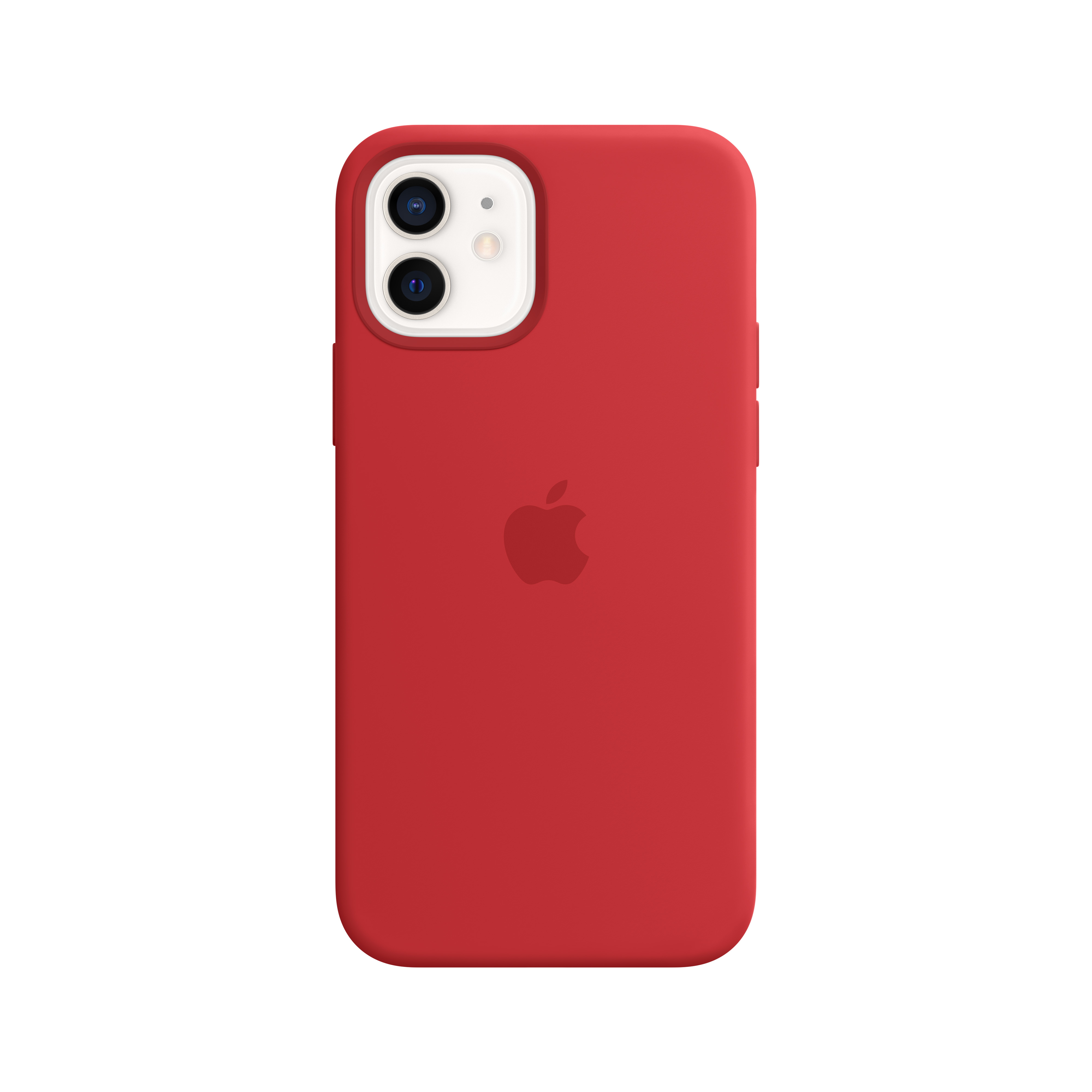 Apple - iPhone 12 | 12 Pro Silicone Case with MagSafe - (PRODUCT)RED Mhl63zm/a