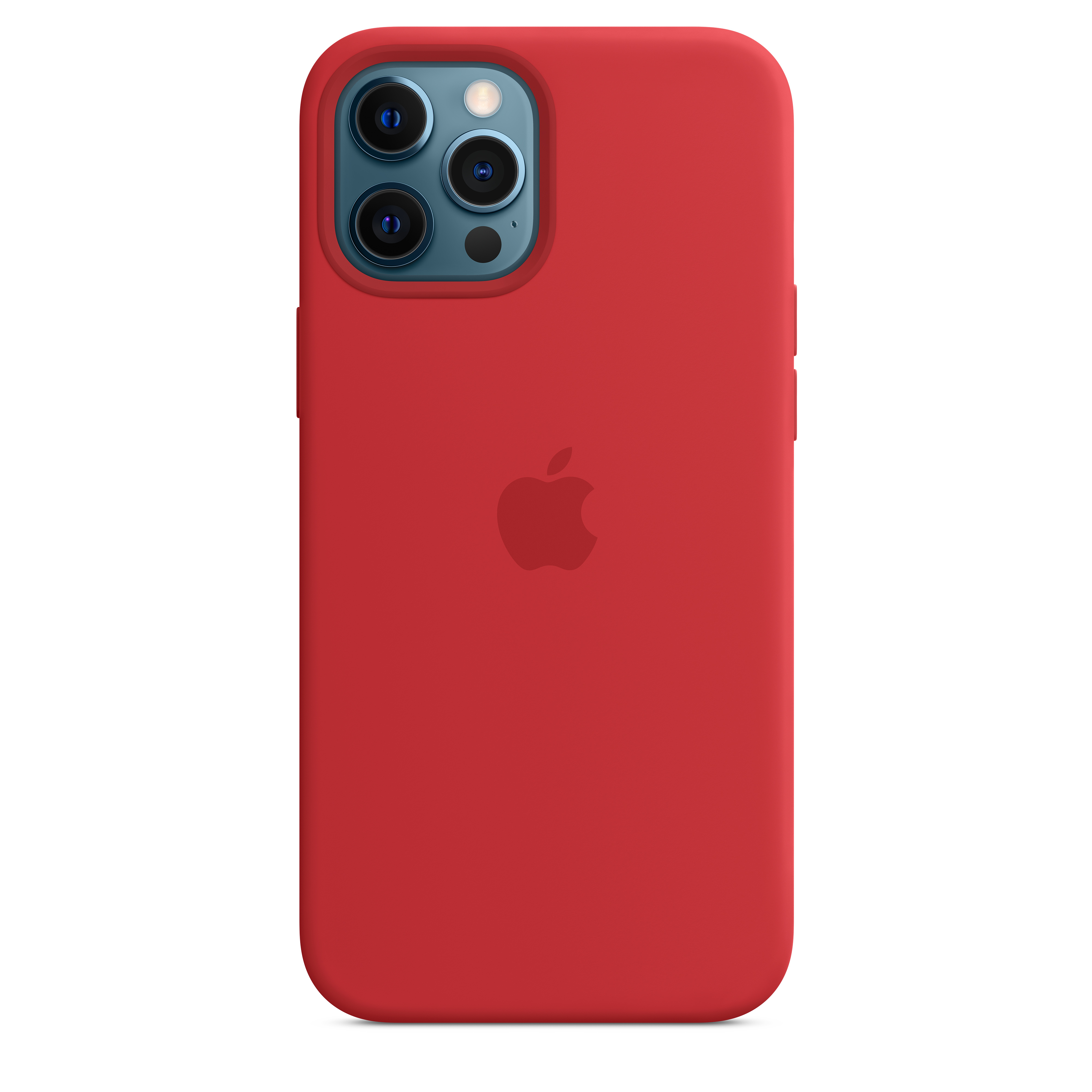 Apple - iPhone 12 Pro Max Silicone Case with MagSafe - (PRODUCT)RED Mhlf3zm/a