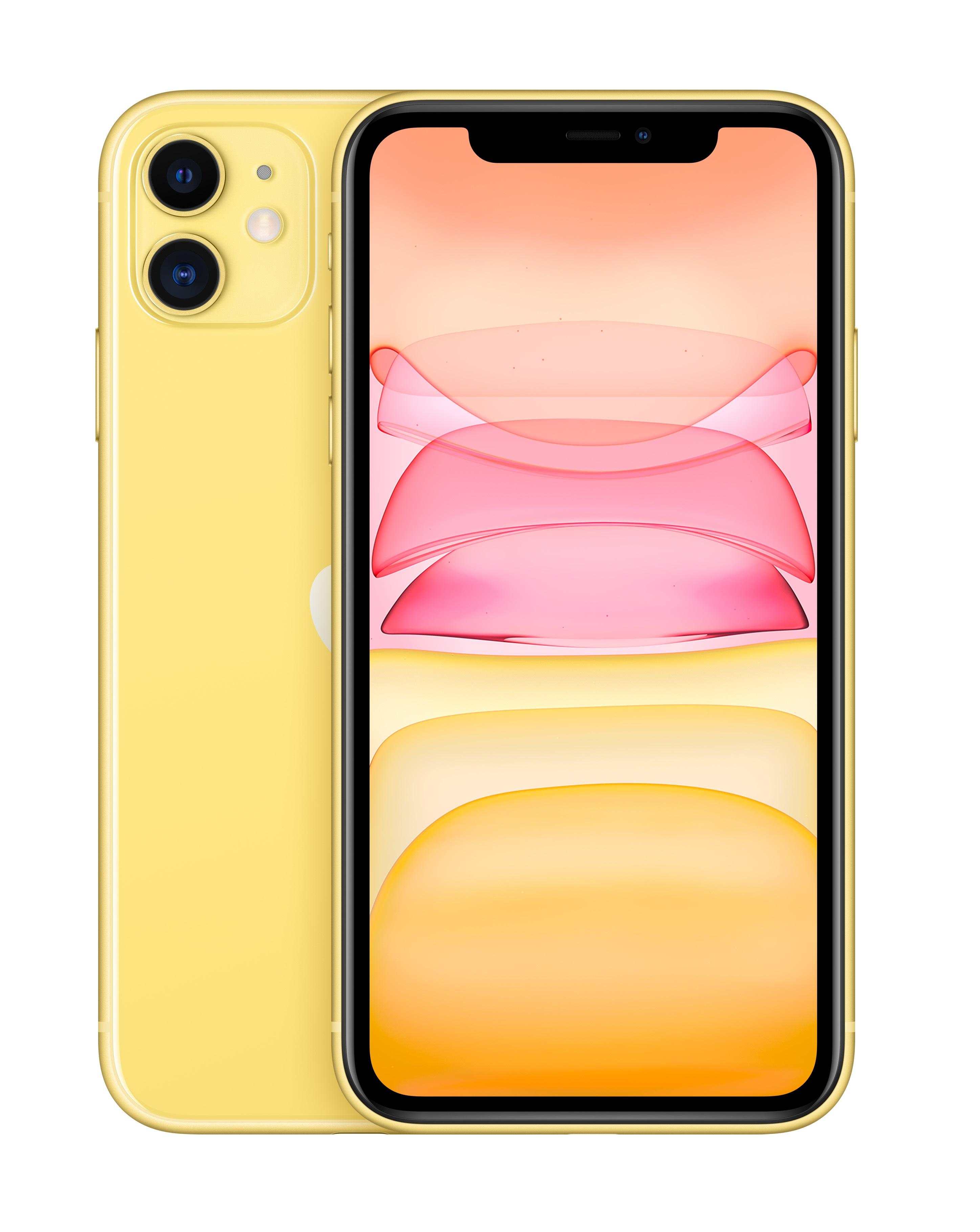 Apple - Iphone 11 64gb Yellow-ed.2020