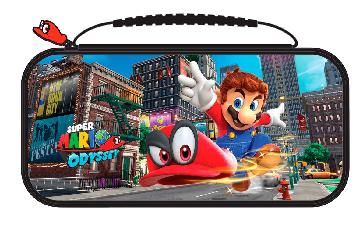 KIT DE LUXE MARIO ODYSSEY SWITCH Custodia protettiva per Nintendo Switch