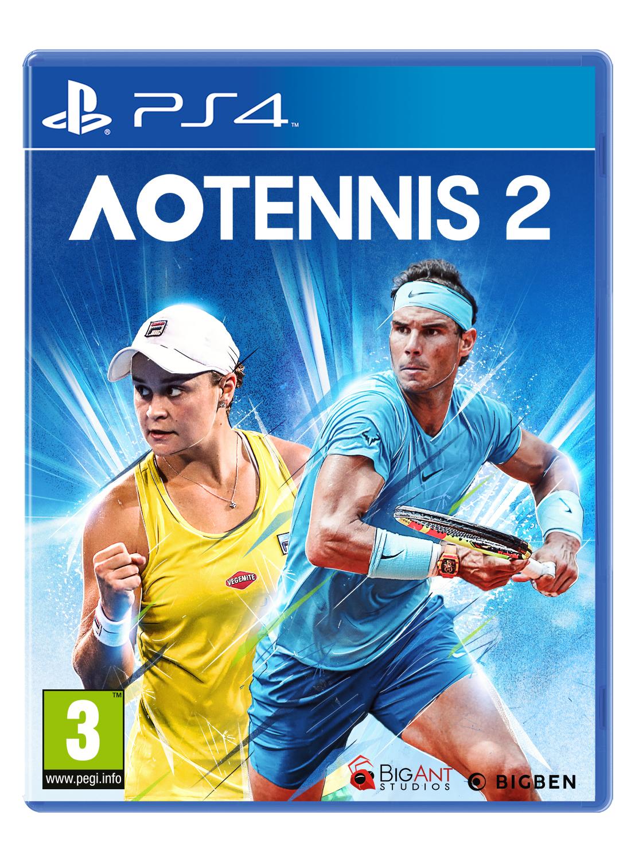 Big Ben Interactive Bigben Interactive AO Tennis 2 - Ps4aotennis2it