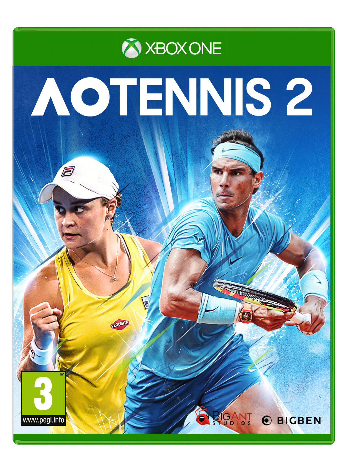 Big Ben Interactive Bigben Interactive AO Tennis 2 - Xb1aotennis2it