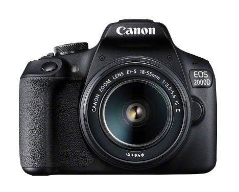 Canon Fotocamera EOS 2000D - Eos 2000 D 18 55 Is Ii Value Up Kit