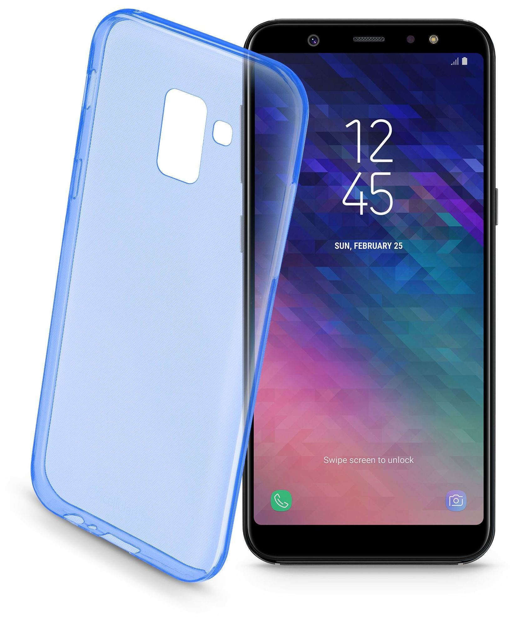 Cellular Line Custodia Galaxy A6+ (2018) - Colorcgala6pl18b