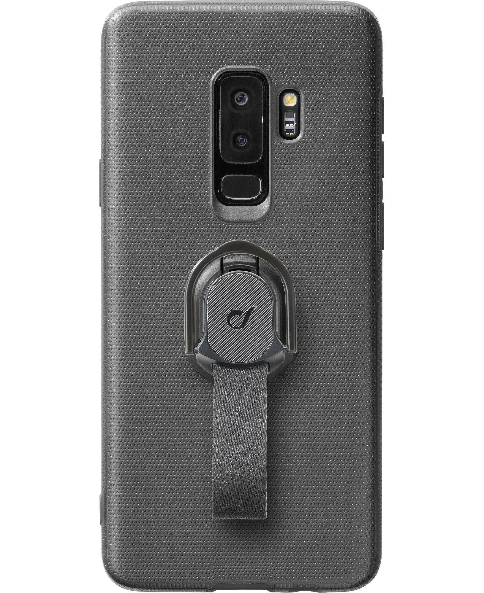 Cellular Line Custodia con asola di sicurezza removibile Galaxy S9+ - Steadycgals9plk