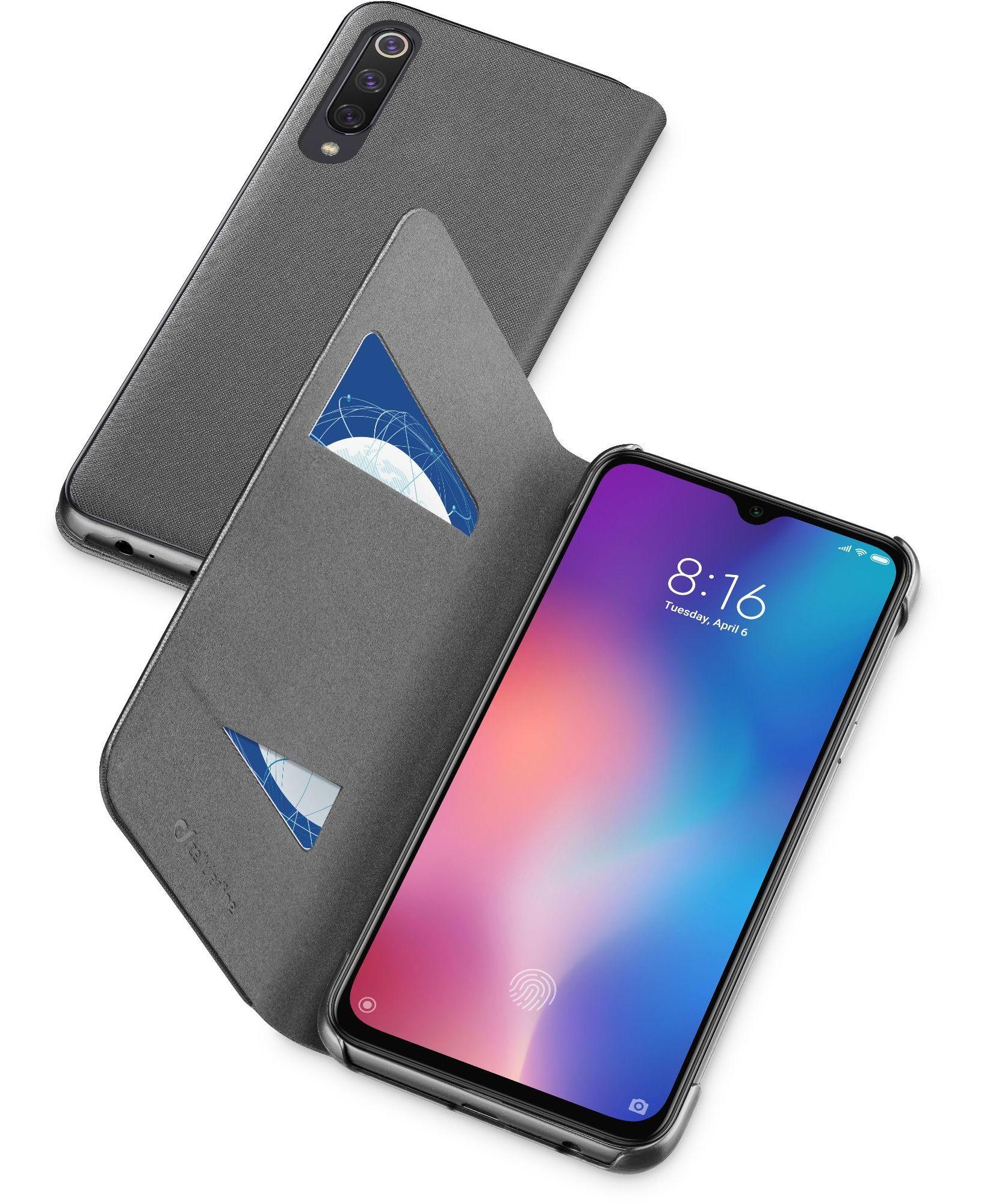 Cellular Line Custodia smartphone - Book2xiaomi9sek Nero