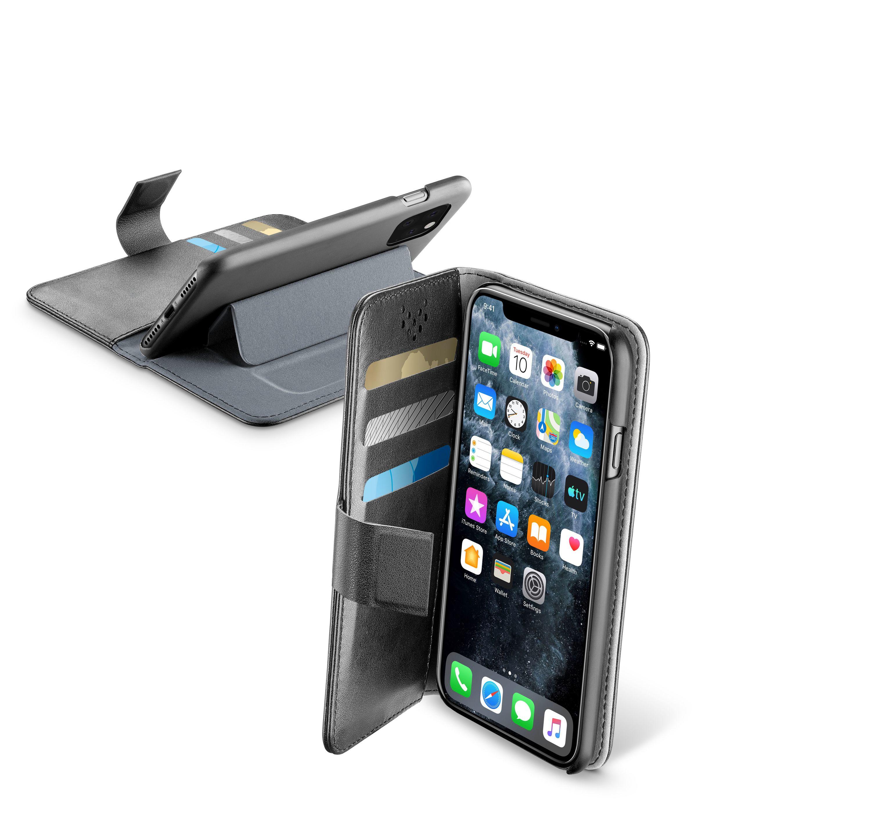 Cellular Line Custodia smartphone - Bookagendaiphxik Nero