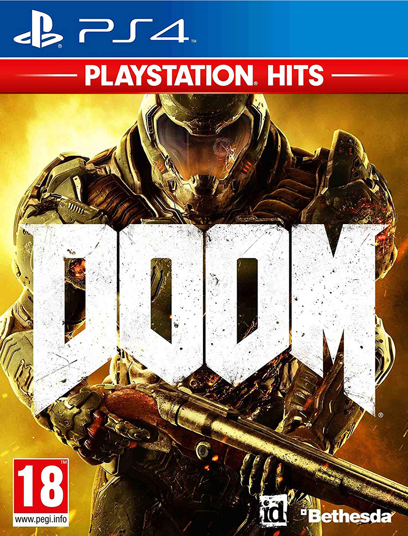 Kochmedia 2 DOOM Bethesda Doom PlayStation Hits - 1036295