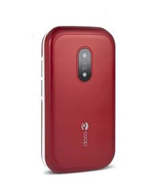 Doro Cellulare triband gsm - 6040 Rosso-bianco