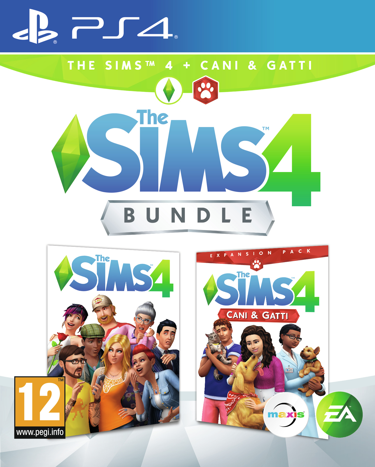 Electronic Arts The Sims 4 Plus Cats And Dogs Bundle The Sims 4 + Cani e Gatti - 1073029