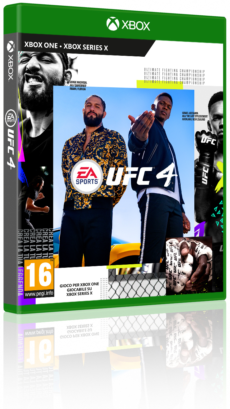 UFC 4 XBOX ONE UFC 4