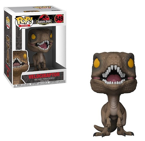 Funko - Figu3007 Figure POP! Jurassic Park - Velociraptor