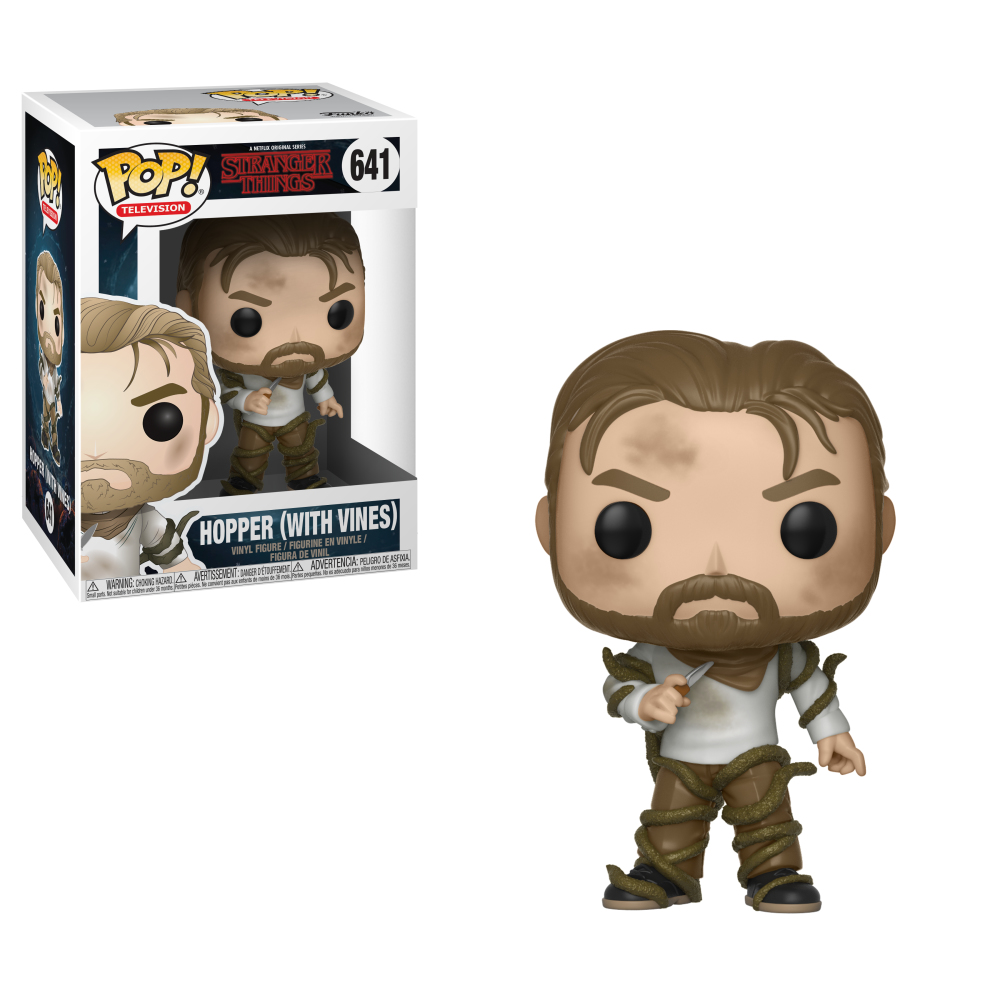 Funko - Figu3044 Pop! Television: Stranger Things - Hopper