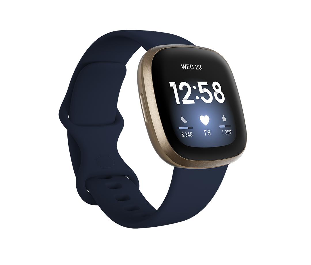 Fitbit - Versa 3 Blu/Oro
