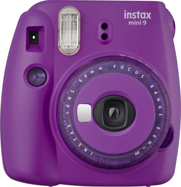 INSTAX MINI 9 CLEAR PURPLE Campo di copertura del flash: 0,6 - 2,7