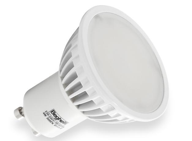 Beghelli - 56023 - ECO SPOT LED 4W GU10 3000K