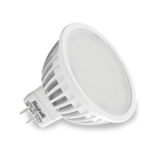 Beghelli LED 6.5W, - 56036 - MR16 ECOLED 6.5W GU5.3 - 4000K