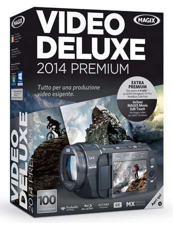 Koch Media S.r.l.(magix) Video deluxe 2014 Premium - Smg-74346
