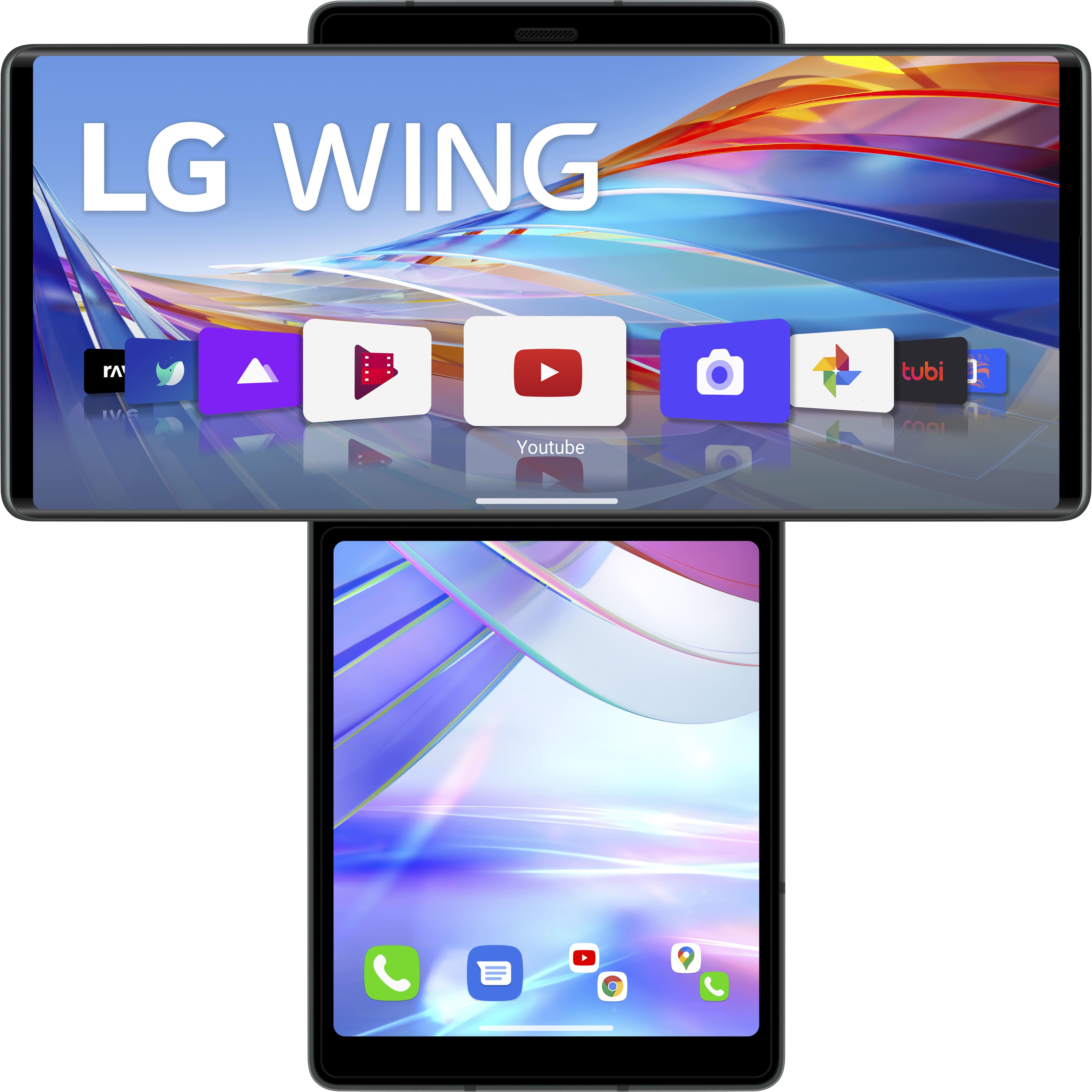 Lg - Lg Wing Aurora Gray