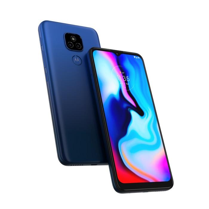 "Motorola Dimensioni schermo 6.5"" - Motorola E7+ Blue"
