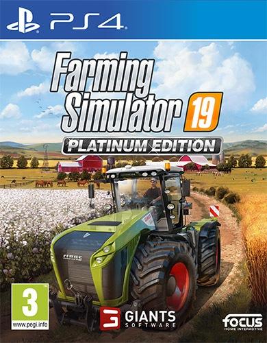 Halifax Gioco adatto modello ps 4 - Ps4 Farming Simulator 19 Platinum Edition