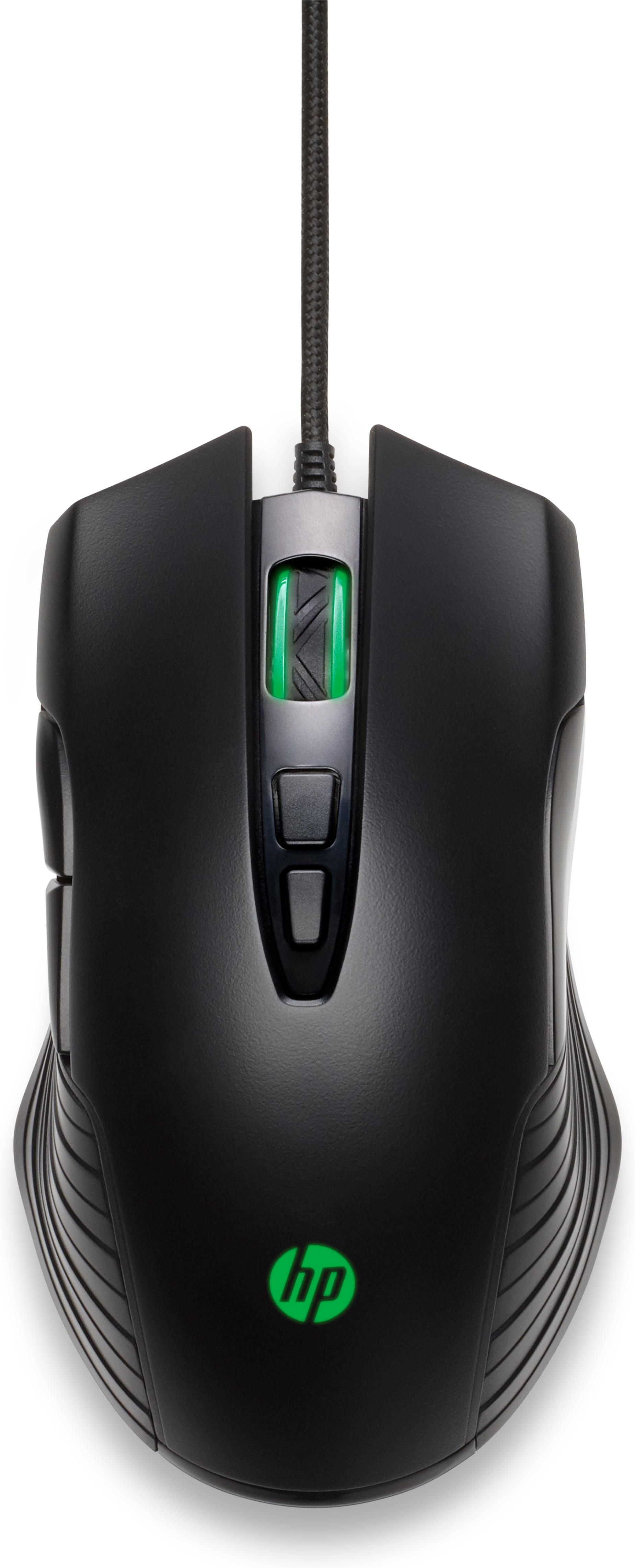 MOUSE GAMING X220 HP Fattore di forma: Ambidestro
