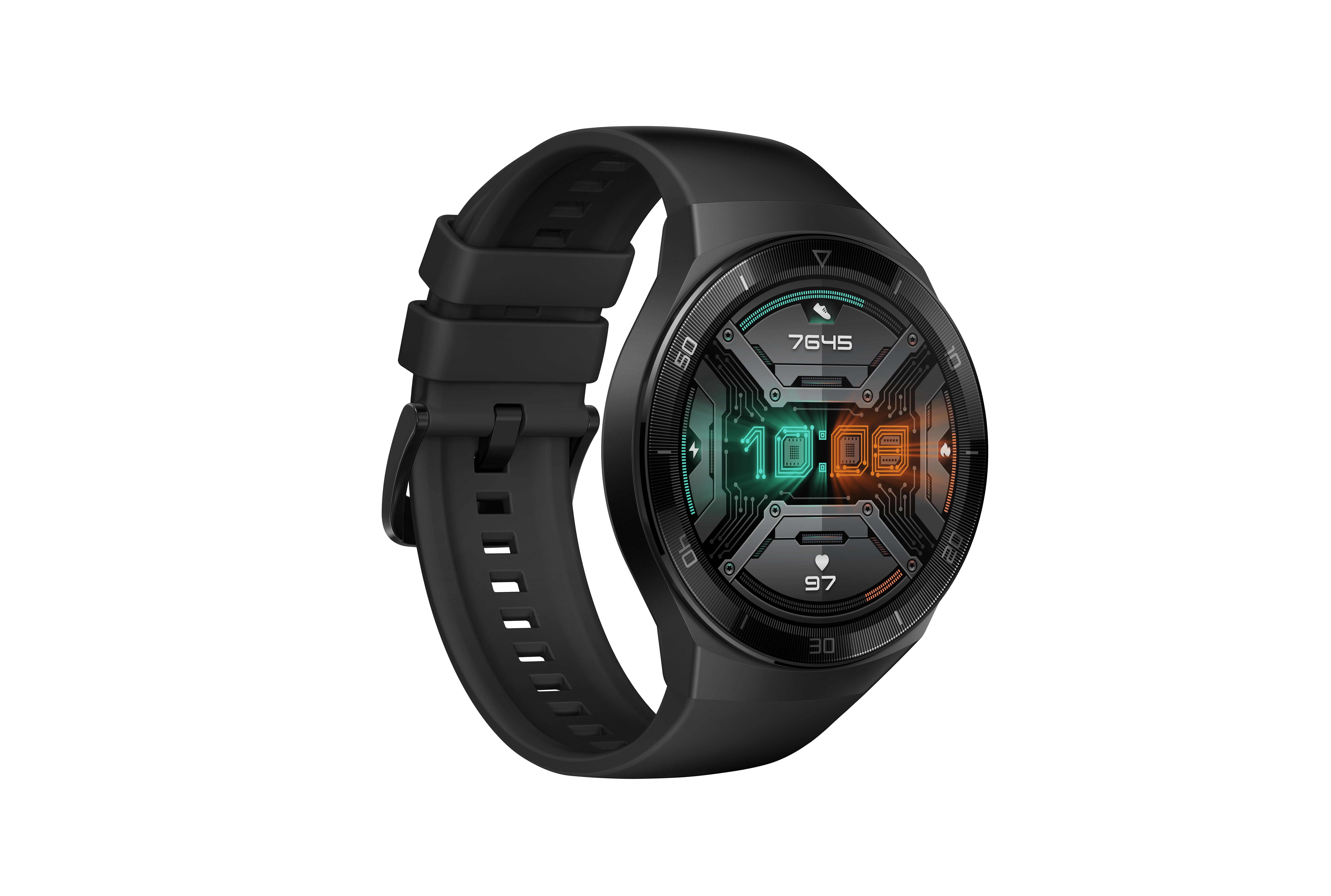 Huawei - Huawei Watch Gt2e Graphite Black