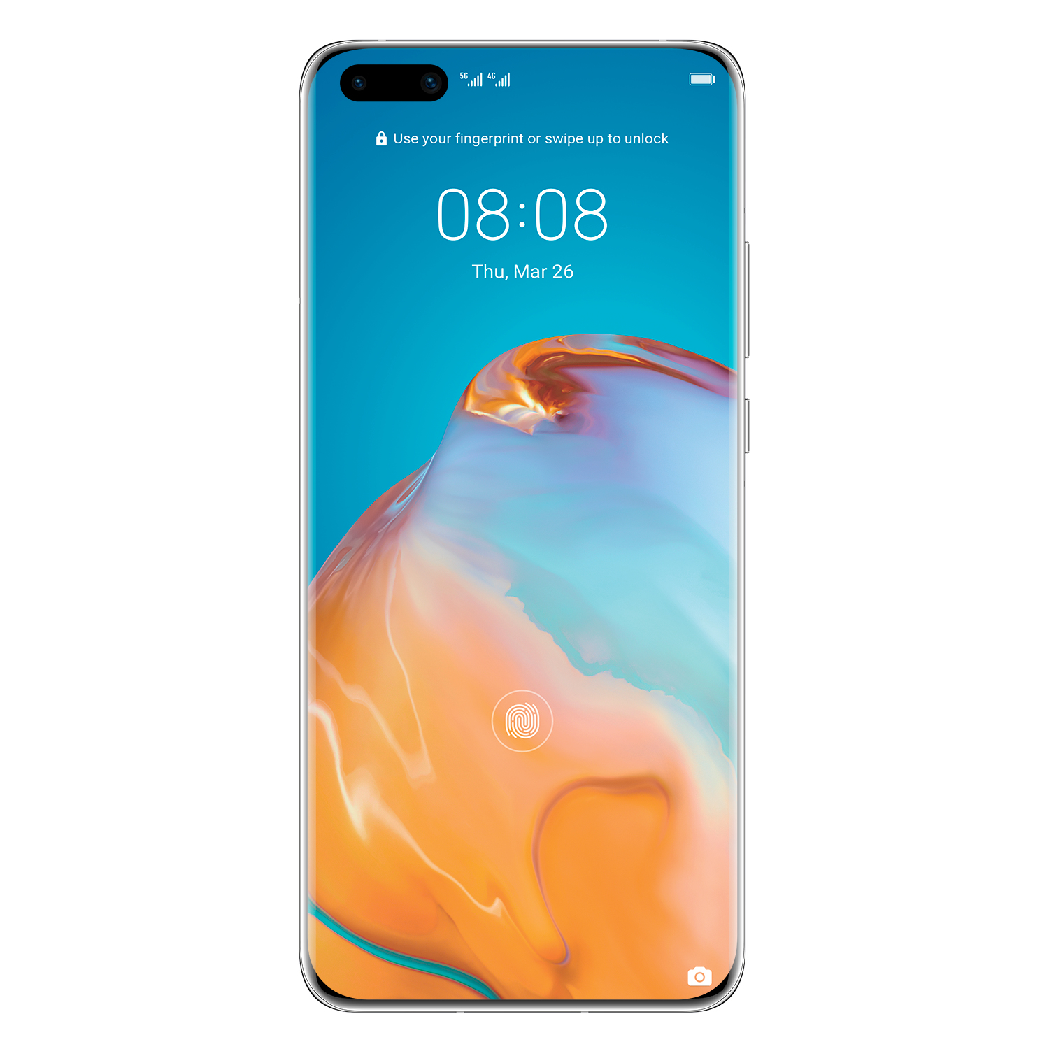 """Huawei P40 Pro Silver Display: 6.58"""" OLED (2640x1200) - 51095cag"""